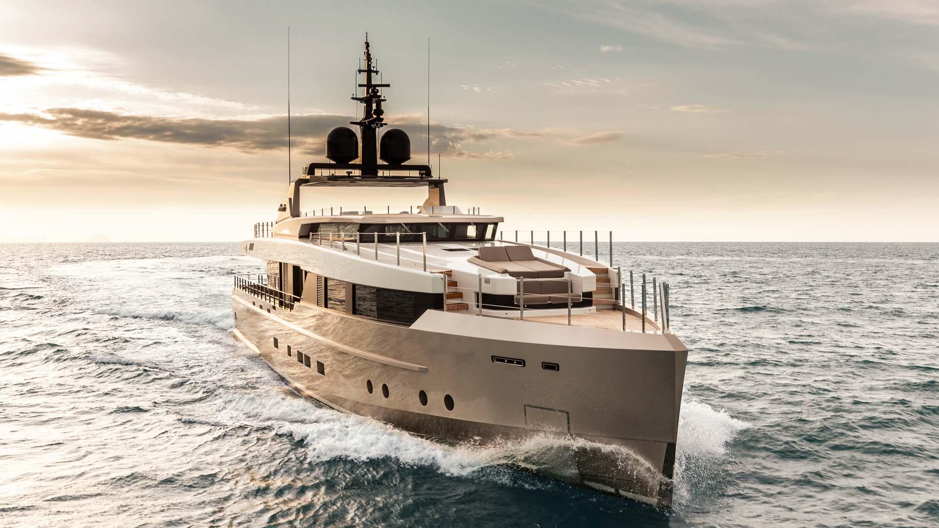 M Y Nono Admiral Yacht Luxury Super Yacht