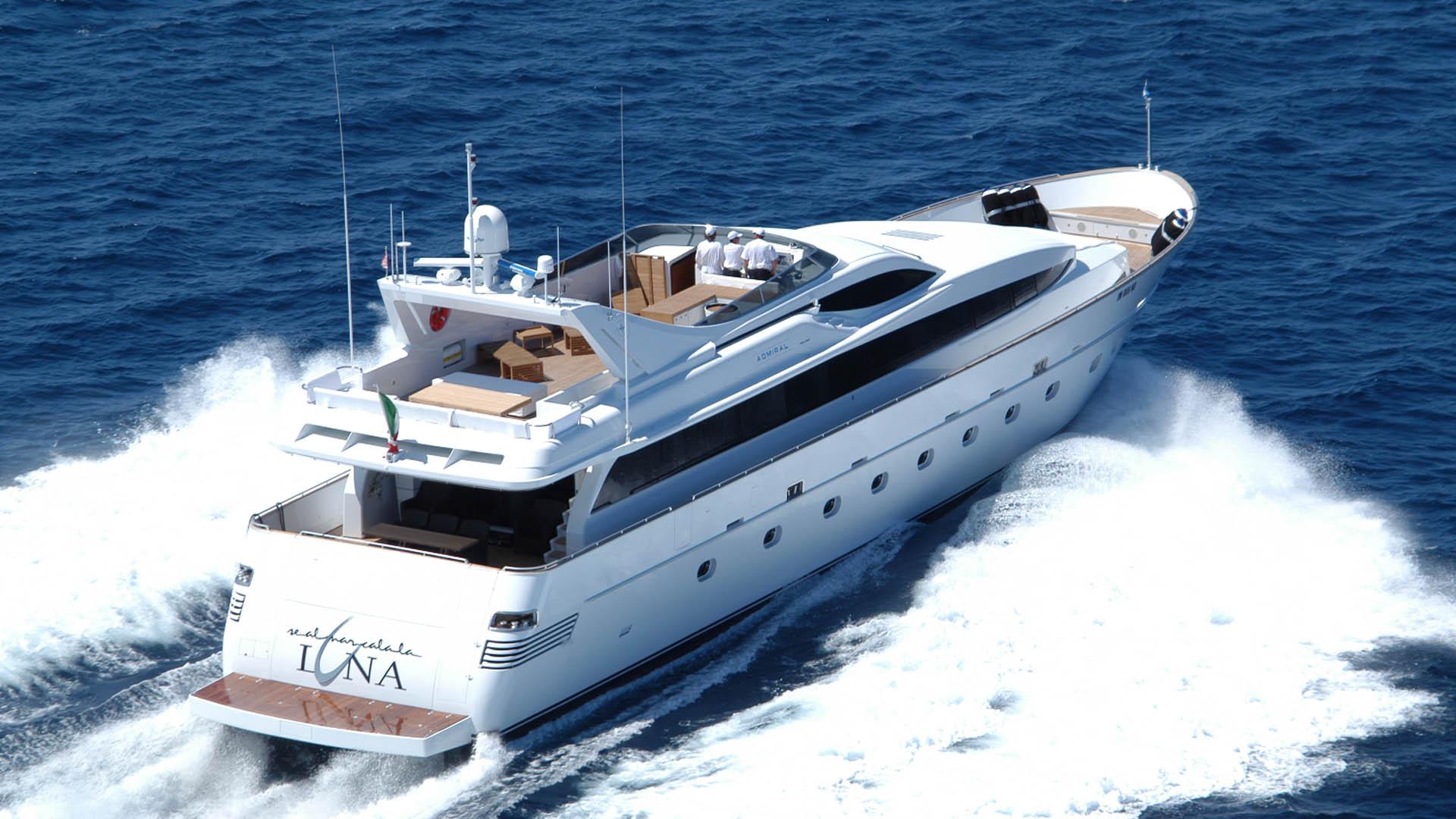 M Y Se Al Mar Cala La Luna Admiral Yacht Luxury Super Yacht